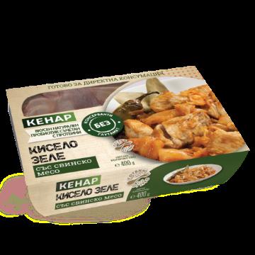 Кисело зеле със свинско месо