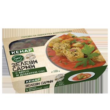 Зелеви сарми с месо и доматен сос