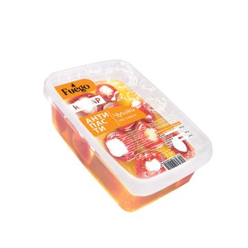 Чери чушки със сирене